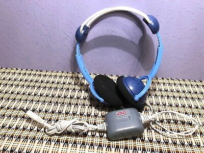 Fisher Price Kid Tough Blue Headphones Built To Survive Drop After Drop.