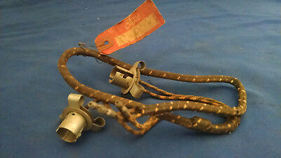 nos 1935 1936 ford headlight wiring harness flathead original coupe sedan