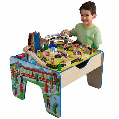 KidKraft Rapid Waterfall Train Set u0026 Table with 47 Accessories Included NEW  sc 1 st  PicClick & KIDKRAFT AIRPORT Express Train Set u0026 Table - 91 accessories included ...