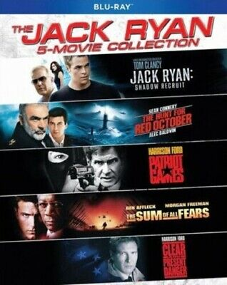 Jack Ryan 5-Movie Collection [New Blu-ray] Boxed Set, Dolby, Dubbed, O-Card Pa