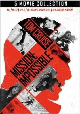 Mission: Impossible 5-Movie Collection [New DVD] Boxed Set, Dolby, Dubbed, Rep