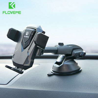 FLOVEME Universal 360°Car Windscreen Dashboard Holder Mount For GPS Mobile Phone