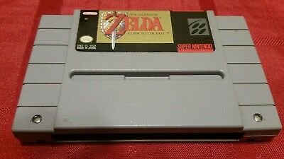 """Legend of Zelda: A Link to the Past (SNES Nintendo) """"Authentic"""" Clean/Tested"""