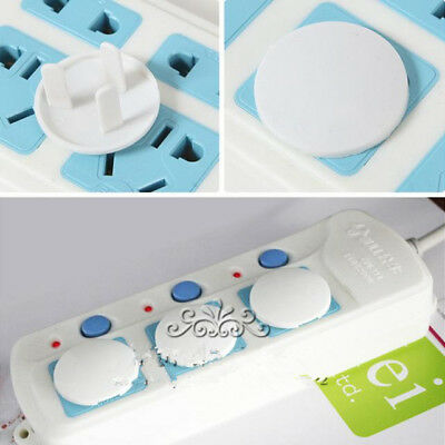 Set 50X Power Baby Kid Socket Cover Baby Proof Protector Outlet Point Plug^