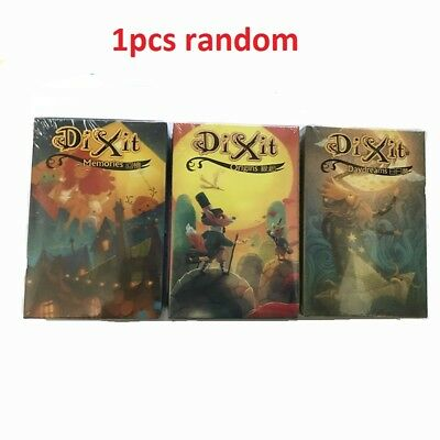 84pcs Dixit Board Game Family party Indoor Games Cards Funny Children Gift Rare