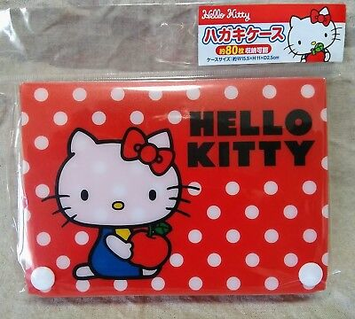 Post Card Case Box Daiso Hello Kitty from Japan kawaii For Sale in Japan Only