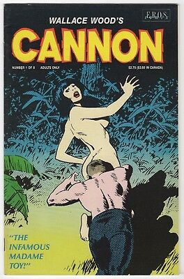Wallace Wood's 'Cannon' #1    - Eros Comix- 1991  NM