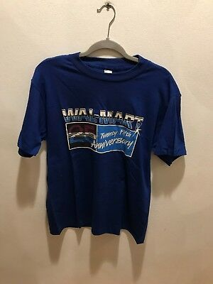 6d0c734ec Vintage Walmart 25th Anniversary Employee T-Shirt Made In The USA Large L