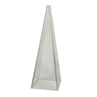 High Temperature Resistance Pyramid Mold Mould for Candle Making Soap Crafts
