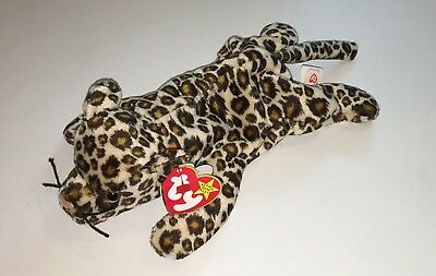 ca9a56217fe Ty Beanie Babies Freckles The Leopard Cat Original NWT Plush Toy Stuffed NEW