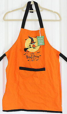 Nwt Sur La Table Little Chefs Halloween Witch Kitchen Apron