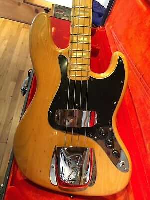 1975 Fender Jazz Bass: all original