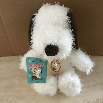 """Peanuts Hallmark Exclusive Happiness Is Snoopy 10"""" Plush New With Tags"""