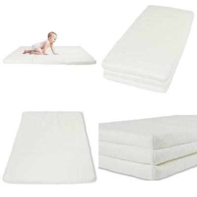 Foldable Pack And Play Mattress With Bonus Carry Bag Perfect For Playards, Play