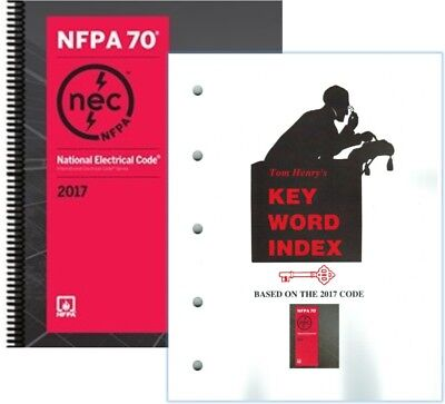 NFPA 70 : National Electrical Code (NEC) Spiralbound with Key Word Index, 2017