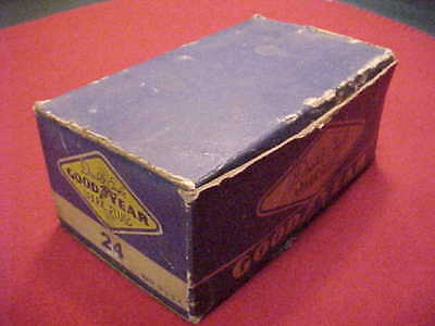 Vintage New Old Stock GOODYEAR DOUBLE EAGLE Spark Plugs 24 [ 10 pack in box ]