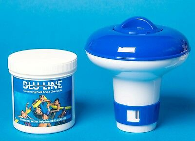 Small Dispenser With 10 Ultimate Chlorine Tablets 20g Plus Free Test