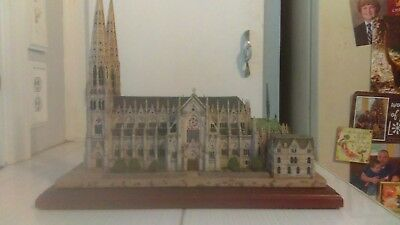 St Patricks Cathedral:: From the Danbury Mint collection an exact replica.