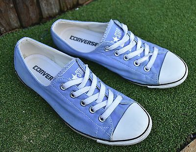Women's CONVERSE All Star shoes Blue Sneakers size US5 UK3 EUR35.5 22cm