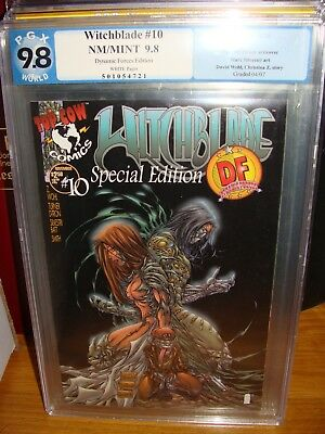 Witchblade 10 Variant DF PGX 9.8 Michael Turner 1st app of The Darkness RARE