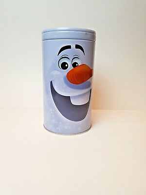 Collectible Frozen Olaf Piggy Bank Tin with Lid, Frozen Character