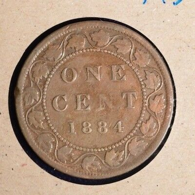 1884 Canada Large Cent - Inv# A-36
