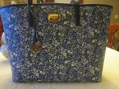 ff7fc6b2081fca NWT MICHAEL KORS Paisley Emry Large North South Heritage Tote ...