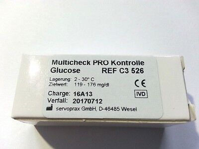 C3 526 Blood/Glucose Control for Lifetouch Multicheck Pro, 3,75 ml