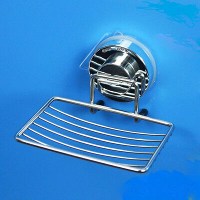 Suction Bathroom Holder Steel Soap Strong With Wall-mounted Dish Stainless Cup