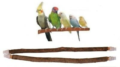 100% Natural Tree Wood Small Caged Bird Perch Budgies Cockatiels Canaries Finch