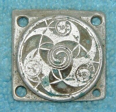 Ancient Celtic Silver Triskele Triskelion Applique 2nd - 1st Century BC - B45