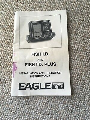 Eagle Fish Id & Fish Id Plus Installation Operation Instructions