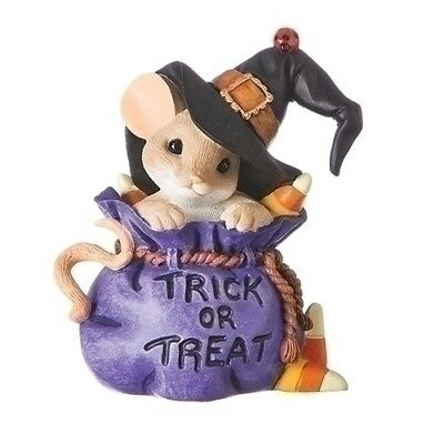 Charming Tails Halloween Trick Or Treat Mouse Bewitchingly Sweet New 2018 131633