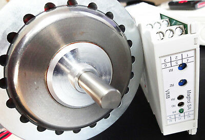 Magtrol HB-140-2 Hysteresis Brake with Proportional Controller VM8, Used, Tested