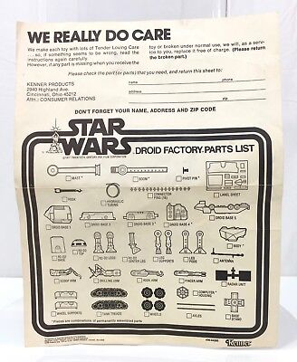 Apologise, We buy vintage star wars parts advise