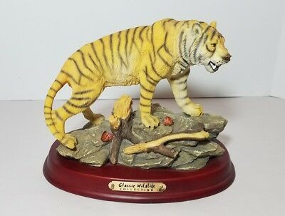 The Classic Wildlife Collection Tiger Sculpture Figurine
