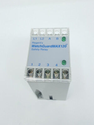 Regent Controls Regent's Safety Relay WatchGuardMAX120 WatchGuard120