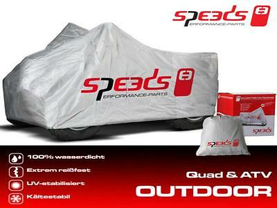 SPEEDS Quad Garaga Abdeckung L Outdoor Wetterfest 226x127x120