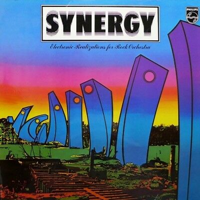 Synergy Electronic Realizations For Rock Orchestra Philips Vinyl LP
