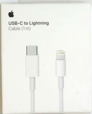 Genuine Apple MQGJ2AM/A (1 m) USB-C to Lightning Fast Charging Cable