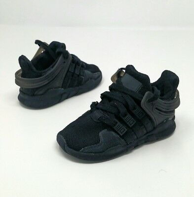 super cute d1eb5 03fae ADIDAS EQT SUPPORT ADV I (Toddler Size 6C) Athletic Sneaker Shoe All Black