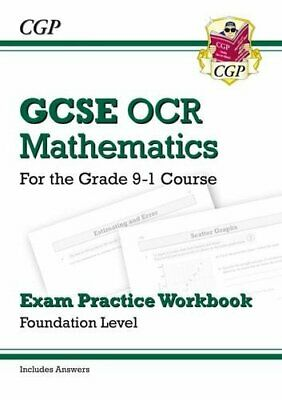 GCSE Maths OCR Exam Practice Workbook: Foundation - for the Gra... by Books, Cgp