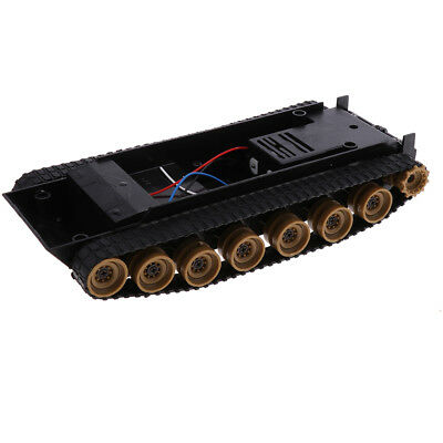Shock Absorbed RC Robot Tank Chassis Kit Track Crawler for Arduino 130 Motor