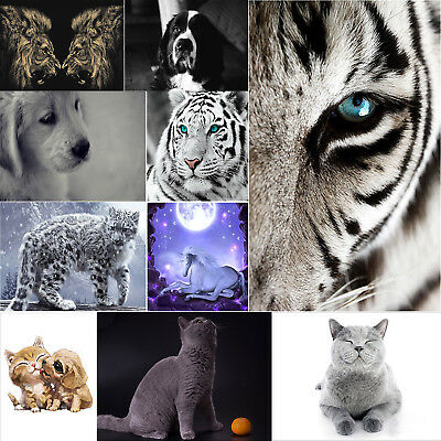 5D ​Animal Full Drill Diamond Painting Hand Embroidery DIY Cross Stitch Kit