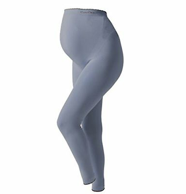 Cache Coeur Illusion, Leggings Premaman Donna, Grigio (Grey GR), 38
