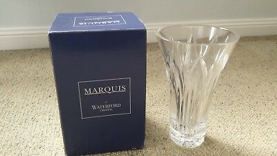 """Marquis by Waterford 8.5"""" Saxony Flower Vase"""