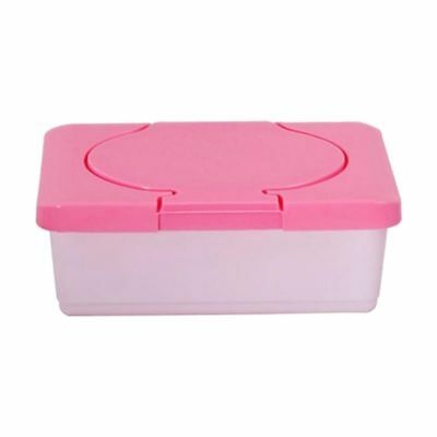 Dry & Wet Tissue Paper Case Care Baby Wipes Napkin Storage Box Holder Contain8G2