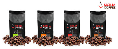 4kg MILD SAMPLER Fresh Roasted Coffee Beans - 4 x 1kg SMOOTH and CREAMY