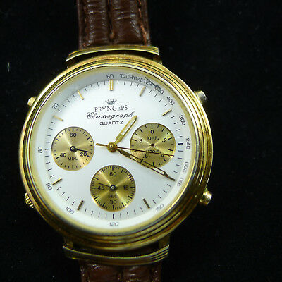 men's watch watch vintage men man CHRONO PRYNGEPS OLD FASHION STYLE