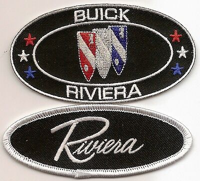Buick Riviera Sew/iron On Patch Emblem Badge Embroidered Electra 225 Wildcat Gs